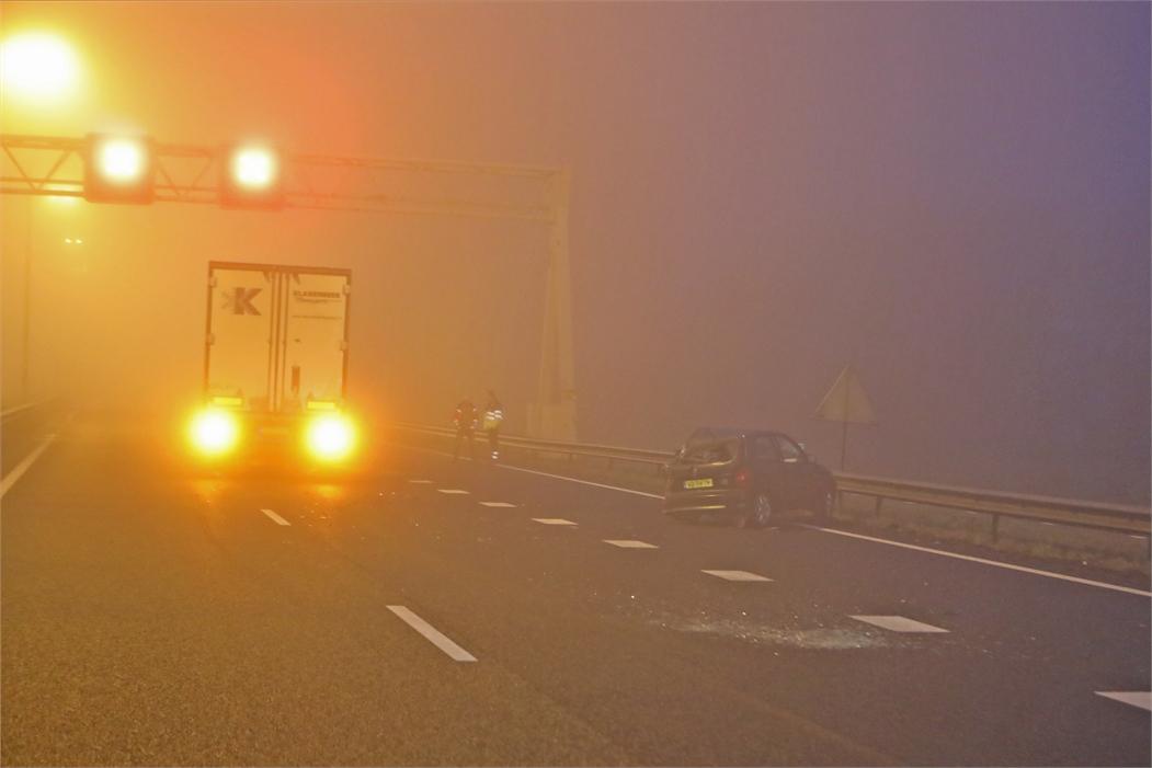 verkeer nl ongeval a27 meerdere autos